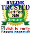 ONLINE TRUSTED certified sites prevent over 99.9% of hacker crime